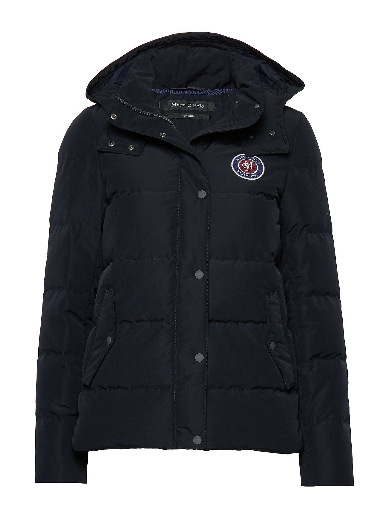 Marc O'Polo Jacket, filled with real down, deta - MIDNIGHT BLUE