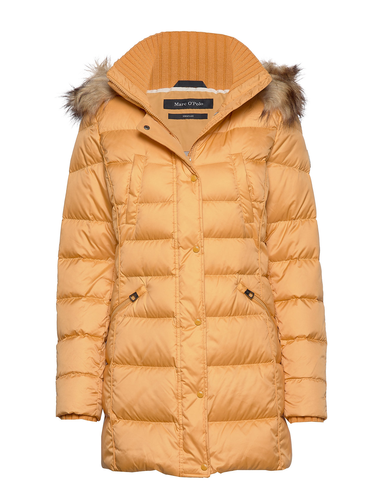 Marc O'Polo Coat, down filled, parka, detachabl - AMBER WHEAT
