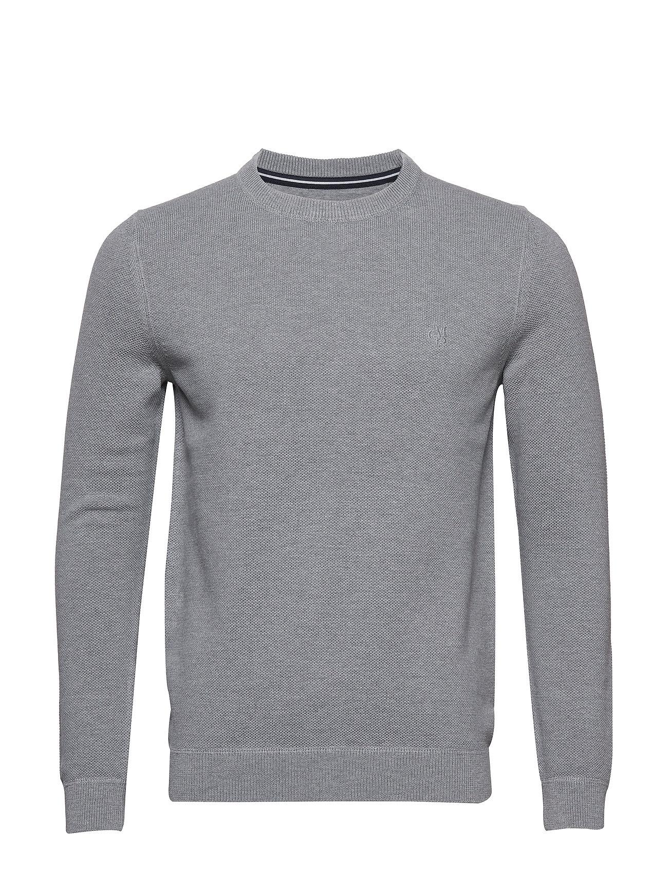 Marc O'Polo Pullover Long Sleeve - GREY MELANGE