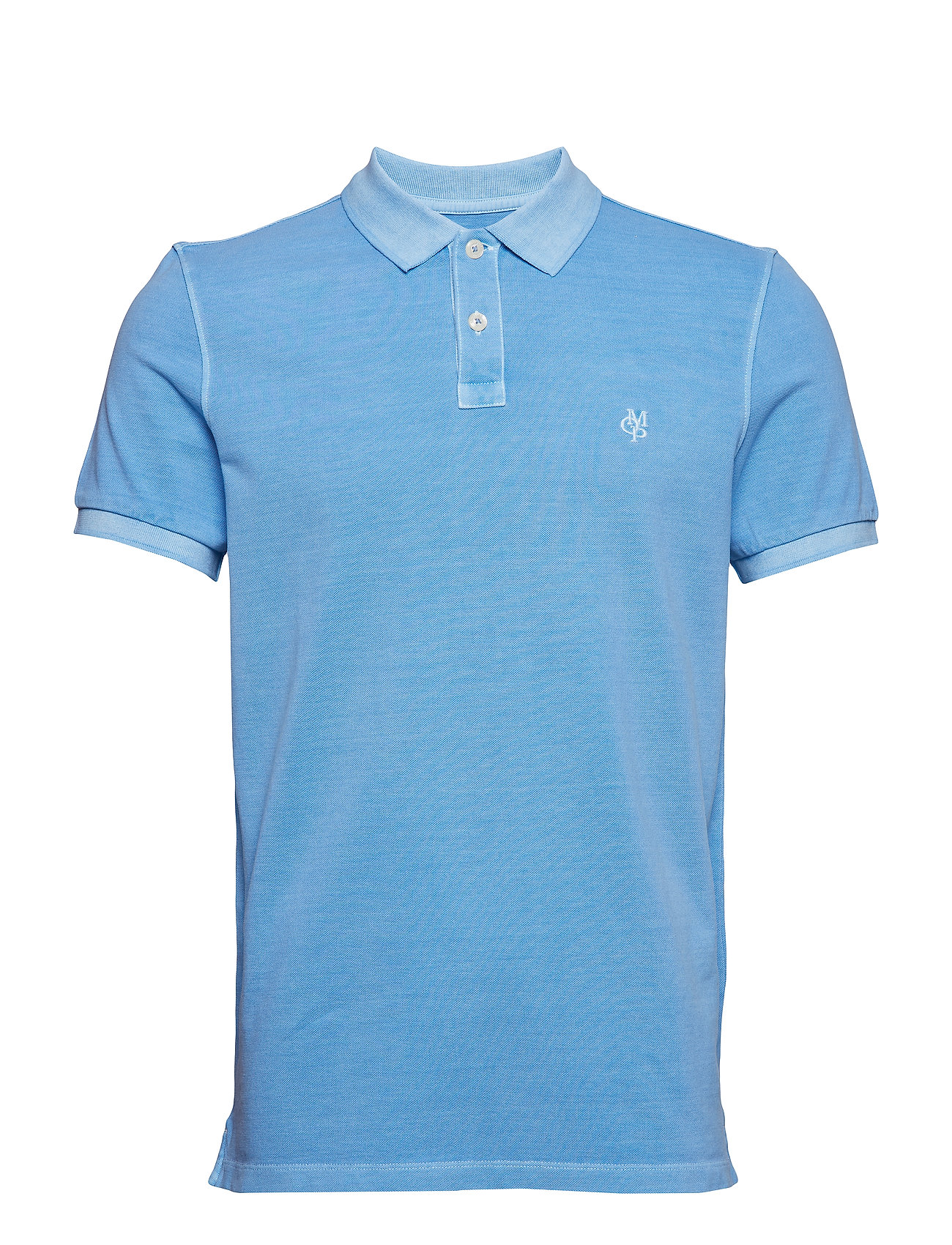 Marc O'Polo Polo Short Sleeve - AZURE BLUE