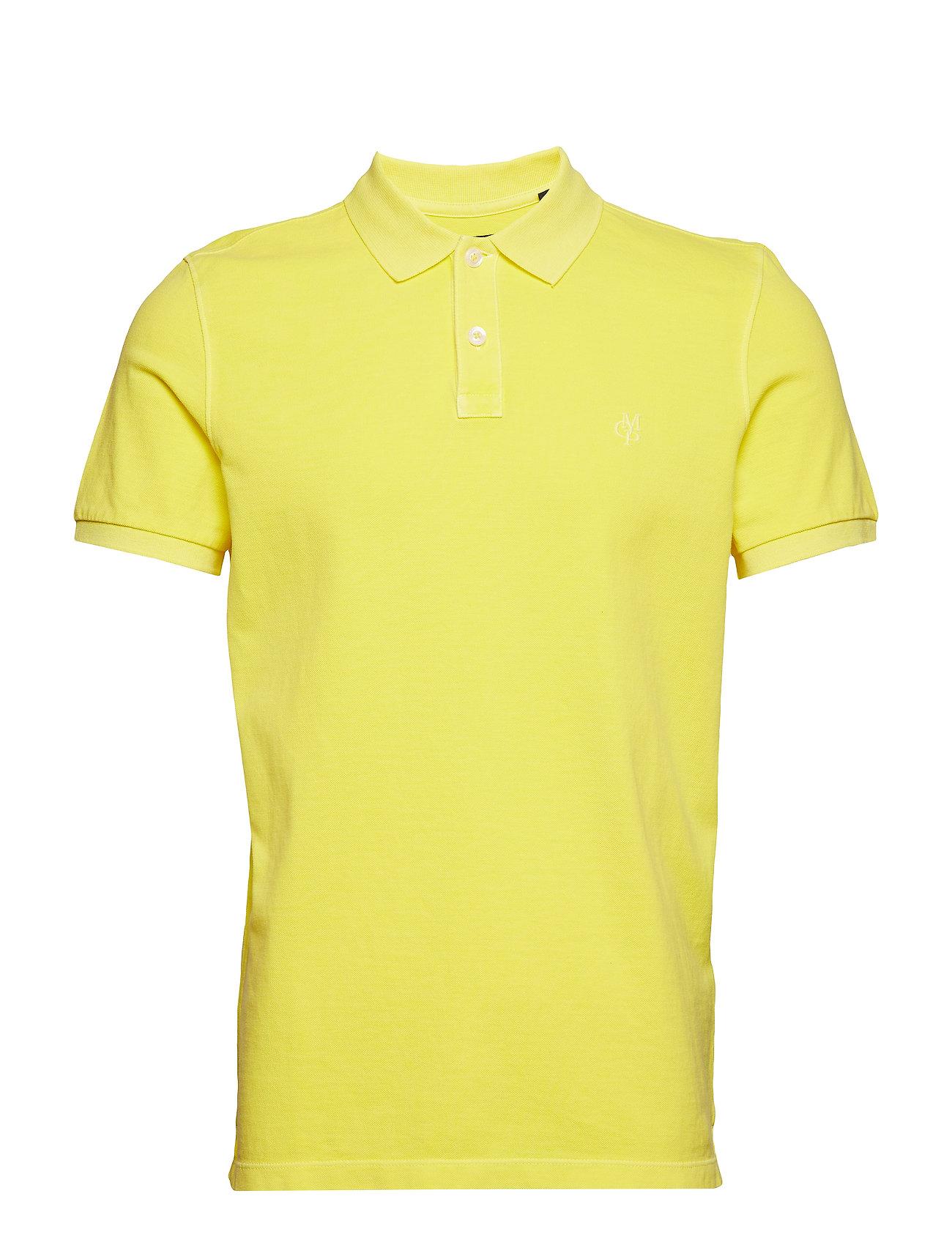 Marc O'Polo Polo Short Sleeve - BUTTERCUP
