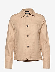 Marc O'Polo - Shirt jacket, slim fit, shirt colla - lette jakker - swedish pine - 0
