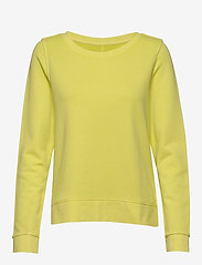 Marc O'Polo - Sweat-shirt, gmt dye, MOP print at - sweatshirts - juicy lime - 0