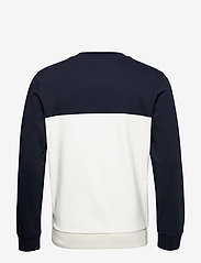 Marc O'Polo - Crew neck, color mix with artwork o - sweatshirts - total eclipse - 1