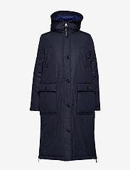 Marc O'Polo - Big puffer coat - dynefrakke - midnight blue - 1
