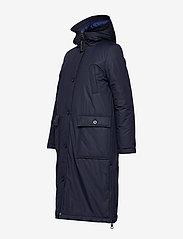 Marc O'Polo - Big puffer coat - dynefrakke - midnight blue - 3