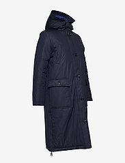 Marc O'Polo - Big puffer coat - dynefrakke - midnight blue - 4