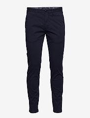 Marc O'Polo - Chino Pants - pantalons chino - blue bird - 0