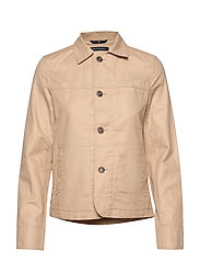 Shirt jacket, slim fit, shirt colla - SWEDISH PINE