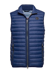 SDND Vest, regular fit, sleeveless, - NAVY PEONY