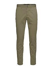 Pants - DEEP LICHEN GREEN