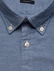 Marc O'Polo - Button down, long sleeve, stitching - chemises basiques - multi/mazarine blue - 2