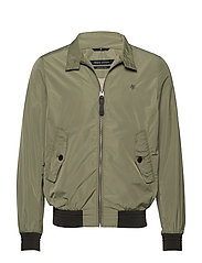 WOVEN OUTDOOR JACKETS - DEEP LICHEN GREEN