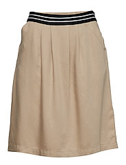 Skirt, elastic in back body - TALL TEAK