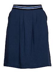 Skirt, elastic in back body - TINTED INK
