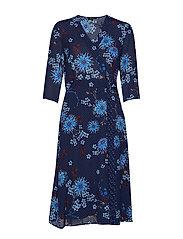 Wrap Style Dress - COMBO