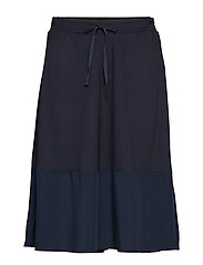 Jersey Skirt - MIDNIGHT BLUE