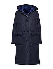 Big puffer coat - MIDNIGHT BLUE