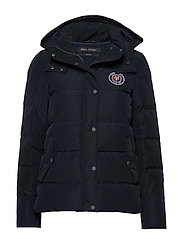 Jacket, filled with real down, deta - MIDNIGHT BLUE