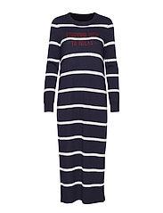 Heavy Knit Dress - COMBO