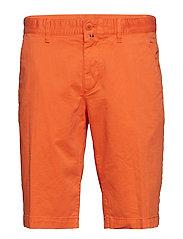 Woven Shorts - VERMILLION ORANGE