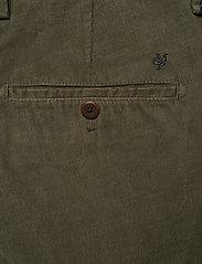 Marc O'Polo - Woven Pants - pantalons chino - grape leaf - 4