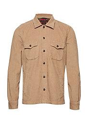 Overshirt Long Sleeve - SEPIA TINT