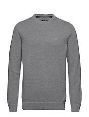 Pullover Long Sleeve - GREY MELANGE
