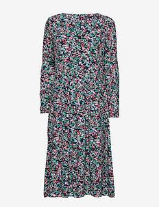 Woven Dress - robes midi - combo