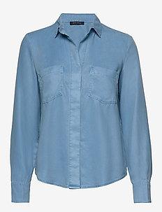 SHIRTS/BLOUSES LONG SLEEVE - chemises à manches longues - foggy sky