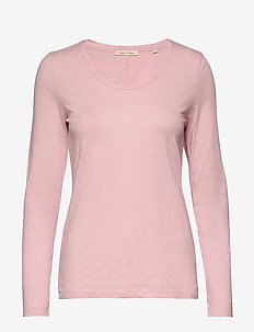 T-shirt long sleeve - hauts à manches longues - bleached berry