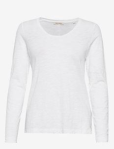 T-shirt long sleeve - hauts à manches longues - dove white