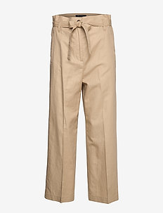Woven Pants - bukser med brede ben - swedish pine