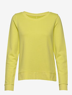 Sweat-shirt, gmt dye, MOP print at - sweatshirts - juicy lime