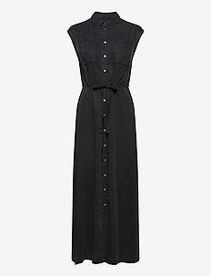 WOVEN DRESSES - maxikjoler - breezy black