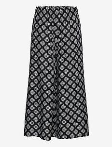 WOVEN PANTS - bukser med brede ben - multi/black