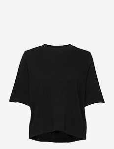 T-SHIRTS LONG SLEEVE - t-shirts - black