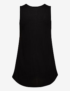 T-SHIRTS SLEEVELESS - Ærmeløse toppe - black