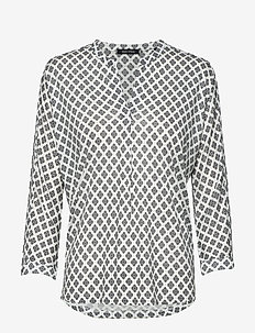 T-SHIRTS LONG SLEEVE - blouses à manches longues - multi/oyster white