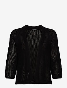 CARDIGANS LONG SLEEVE - cardigans - black