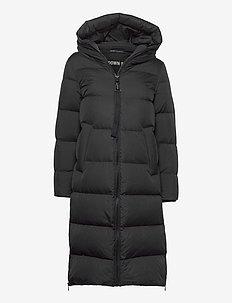 WOVEN COATS - dynefrakke - black