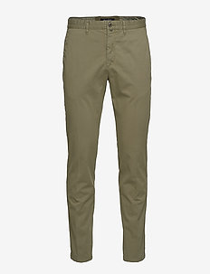 Pants - chinos - deep lichen green