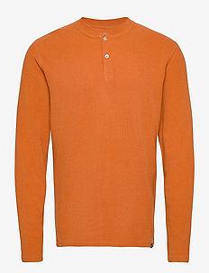 T-SHIRTS LONG SLEEVE - podstawowe koszulki - rust