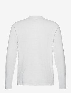 T-SHIRTS LONG SLEEVE - basic t-shirts - white