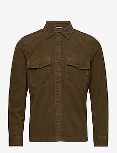SHIRTS/BLOUSES LONG SLEEVE - overdele - dusty green