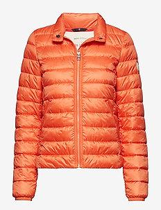 Woven Outdoor Jacket - RUST ORANGE