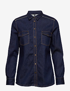 Denim Shirt - CLEAN RINSE DENIM WASH
