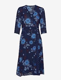 Wrap Style Dress - robes portefeuille - combo
