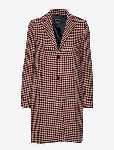 Coat With Revers - uldfrakker - combo