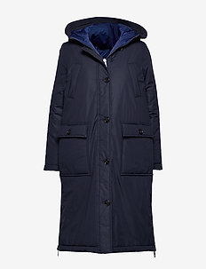 Big puffer coat - manteaux d'hiver - midnight blue